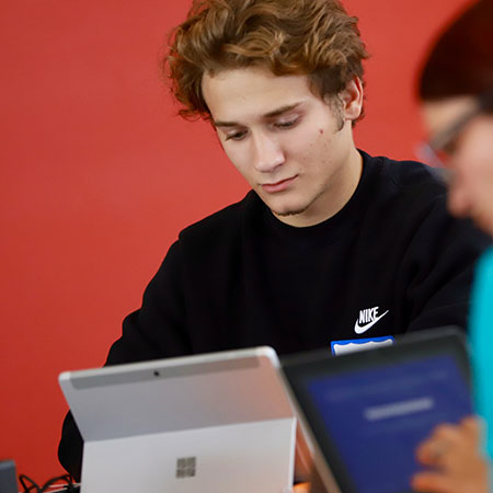 Iowa Central Online Learning has fleixble options for students on the go.