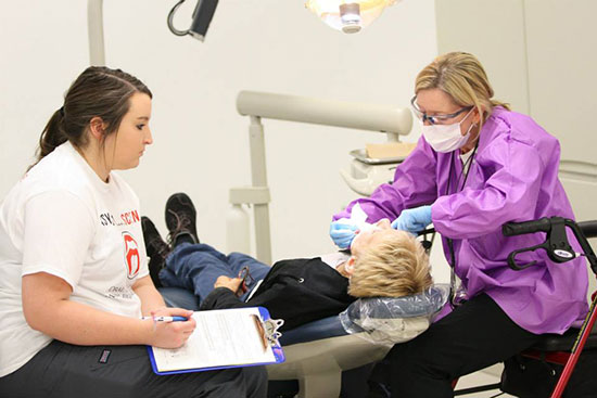 Iowa Central Dental Hygiene Program Hosts Oral Head And
