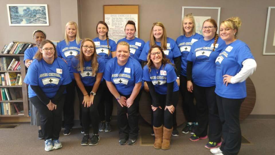 Iowa Central Nursing Students Take Part In Warm Hearts