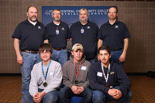 Iowa Central Industrial Technology Competition Day Winners