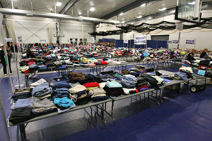Iowa Central Students Gather Community Donations For Share What You Wear Event