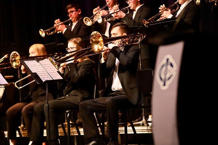 More Than 600 Students Participate In Iowa Central's Triton Jazz Festival