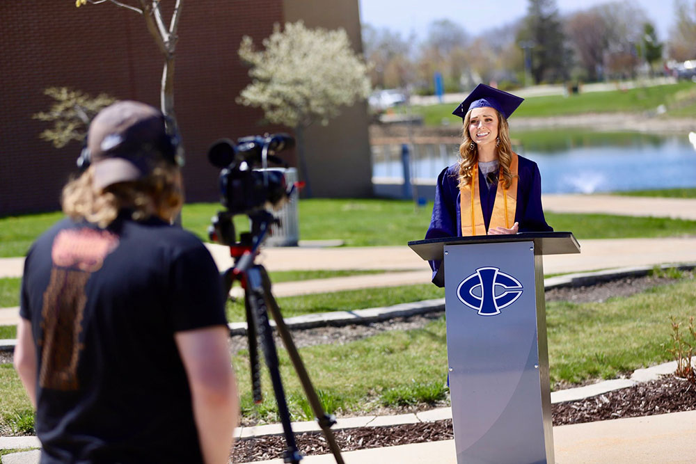 Iowa Central Community College Hosts First Virtual Commencement Ceremony