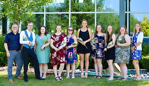MLT students honored with pinning ceremony